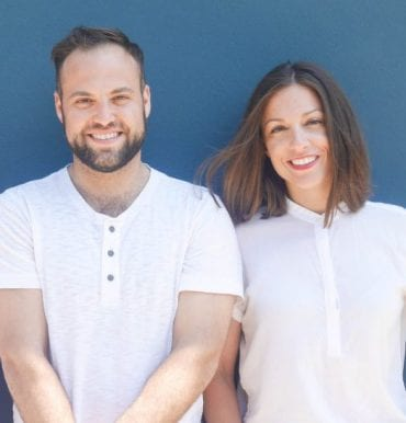 Co-Founders of Wise Apple, the first recipient of NUseeds funding. Rebecca Sholiton KSM '16 & Nathan Cooper KSM '17