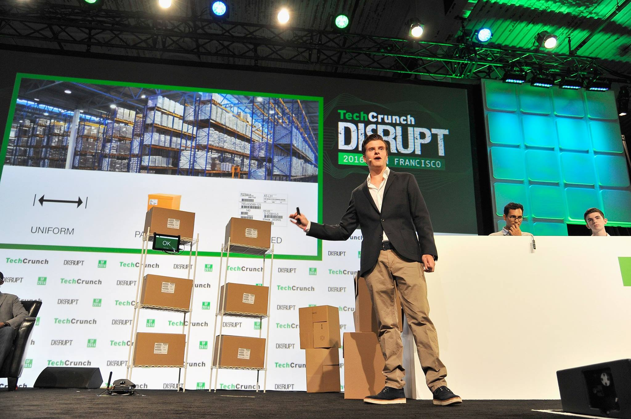 Image of IFM Marc at TechCrunch Disrupt