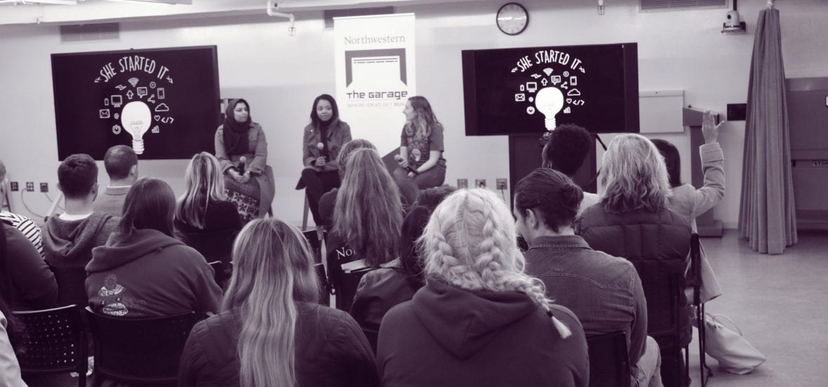"""Image taken during the """"She Started It"""" event"""