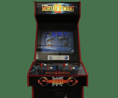 Image of Mortal Kombat arcade cabinet