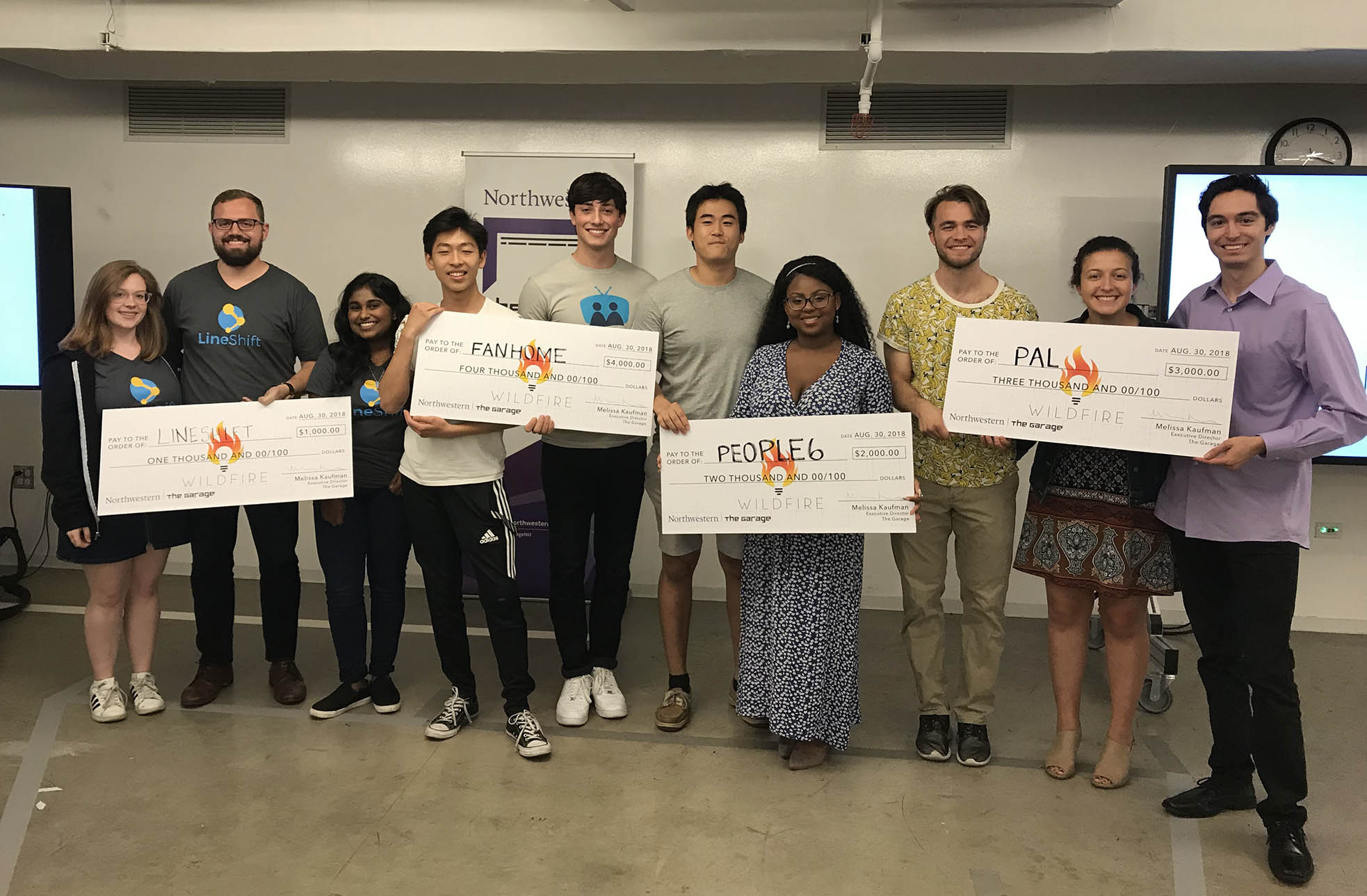 Image of Wildfire Demo Day winners
